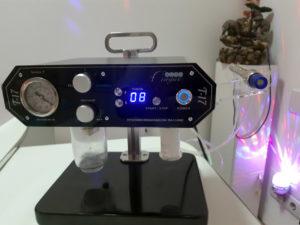 Вакуумний гідропілінг з алмазною мікродермабразією